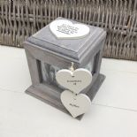 Shabby Chic PERSONALISED Rustic Wood In Memory Of Mum Mam Or ANY NAME Photo Cube - 232995680398